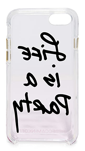 Rebecca Minkoff Life is a Party iPhone 7 Case