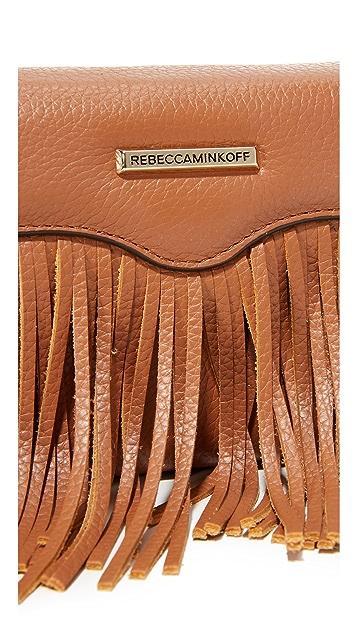 Rebecca Minkoff Fringe Tech Cross Body Bag
