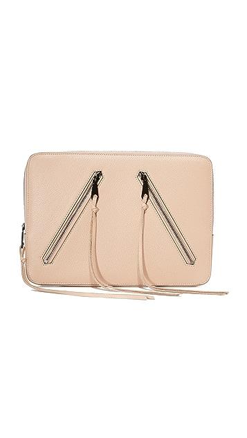 Rebecca Minkoff Double Zip Laptop Sleeve