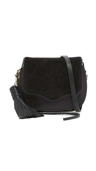 Rebecca Minkoff Mini Suki Cross Body Bag In Black