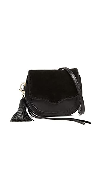 Rebecca Minkoff Mini Suki Cross Body Bag In Black