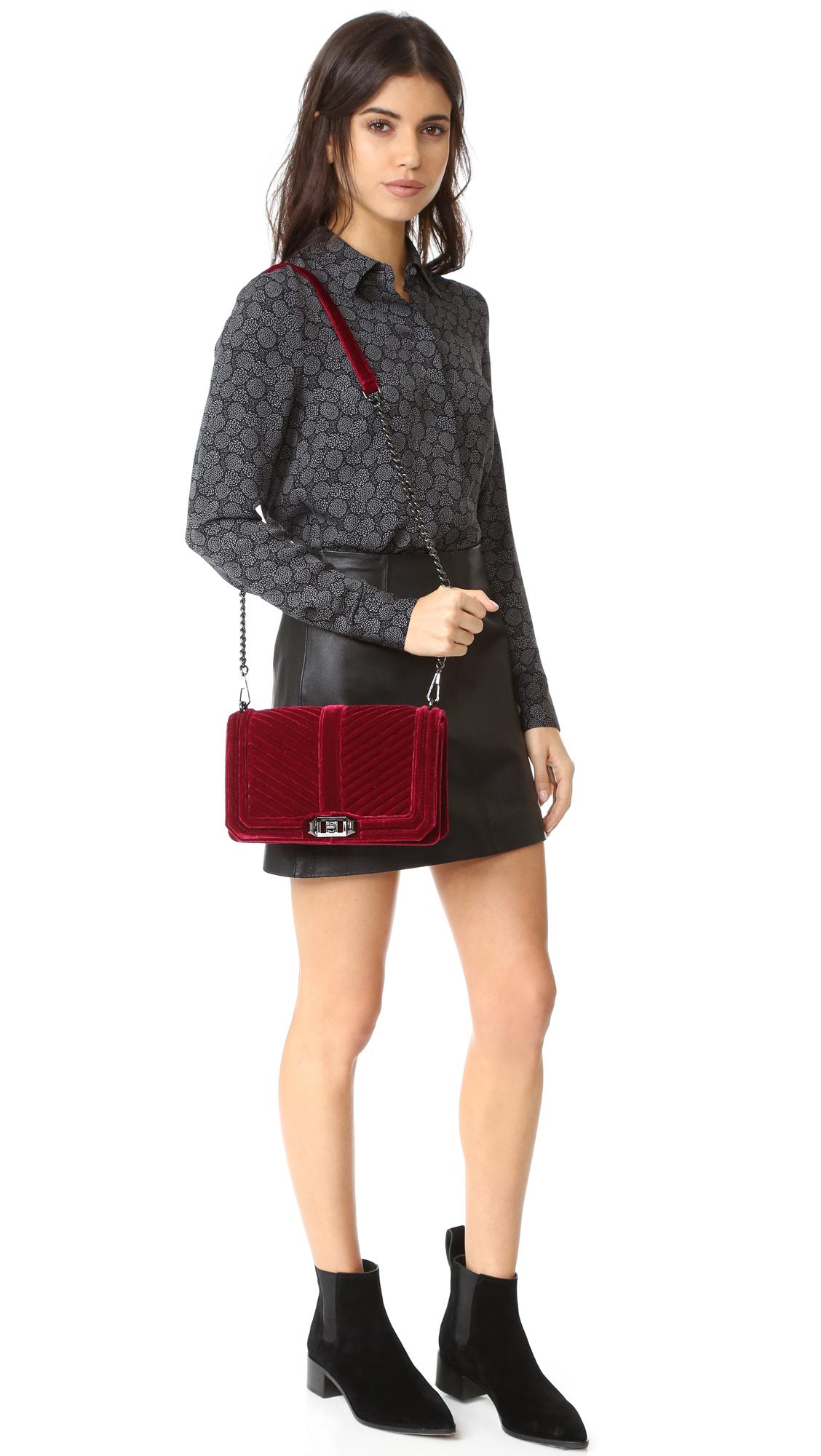 817f2d8076f7 Rebecca Minkoff Velvet Love Cross Body Bag