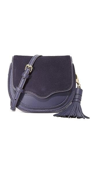 Rebecca Minkoff Миниатюрная седельная сумка Suki