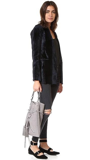 Rebecca Minkoff Large Moto Drawstring Bag