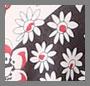 Tricolor Floral Print