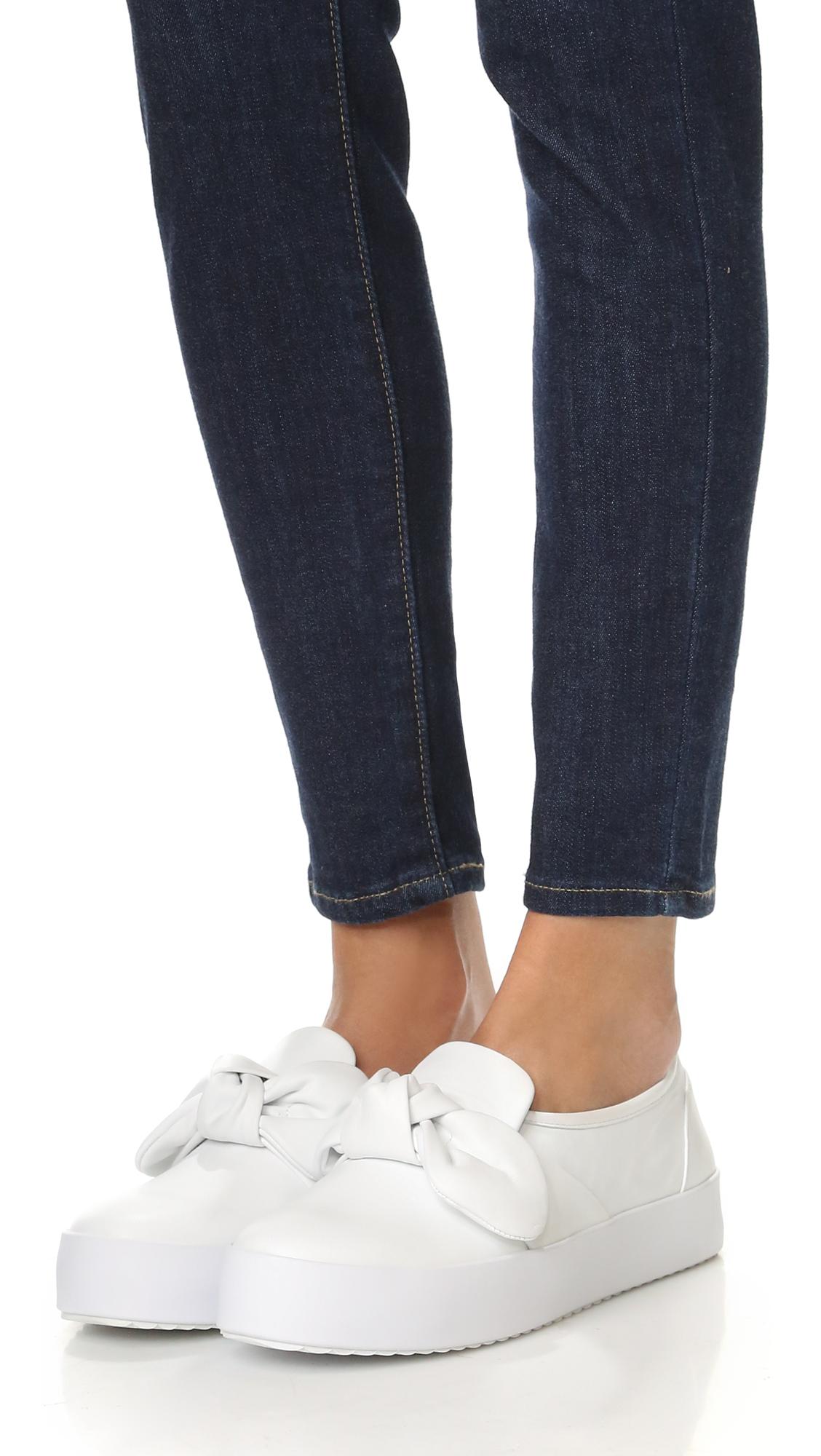 Rebecca Minkoff Stacey Platform Sneaker FPrxMErOP