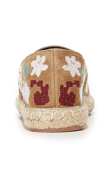 Rebecca Minkoff Gavin Embroidered Espadrilles