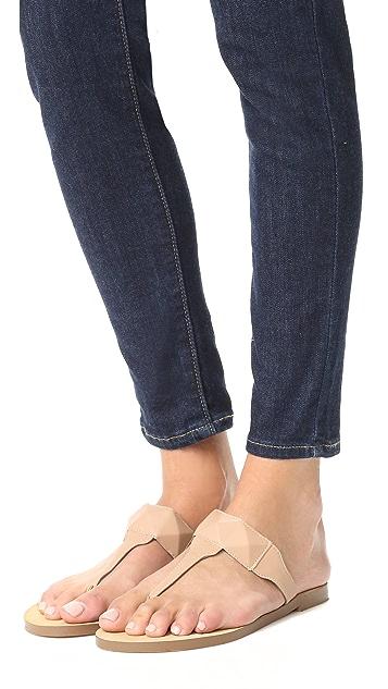 Rebecca Minkoff Eloise Thong Sandals