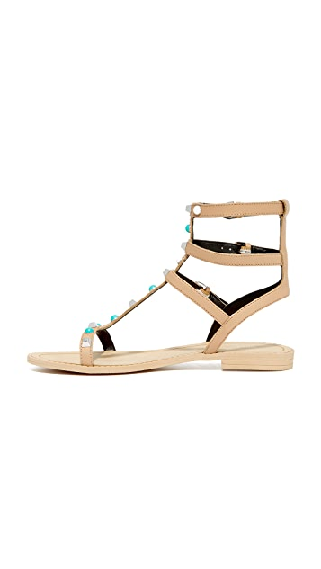 Rebecca Minkoff Georgina Too Studded Sandals