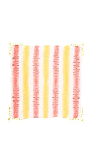 Rebecca Minkoff Tie Dye Square Scarf