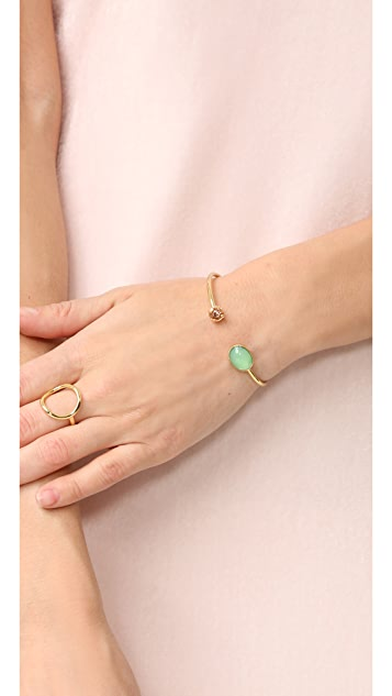 Rebecca Minkoff Pearl and Crystal Baby Cuff