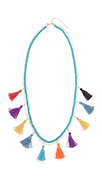 Rebecca Minkoff Sofia Tassel Layering Necklace