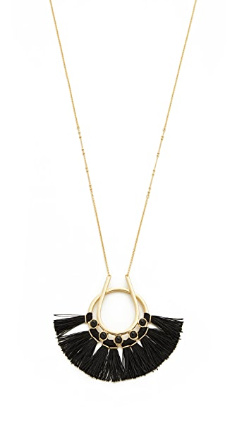 Rebecca Minkoff Utopia Tassel Pendant Necklace