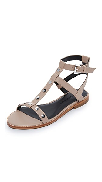 Rebecca Minkoff Sandy Sandals In Nude