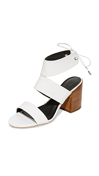 Rebecca Minkoff Christy Sandals In Optic White