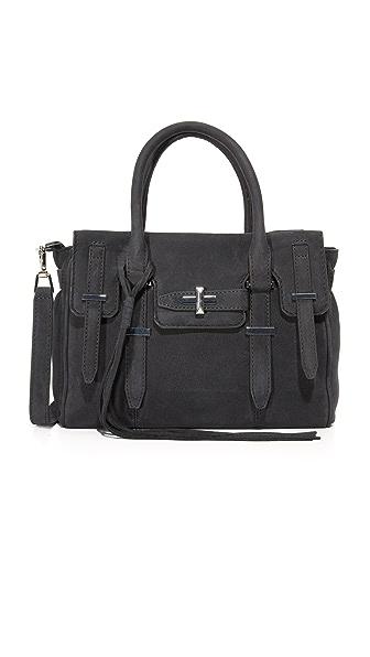 Rebecca Minkoff Маленькая сумка-портфель Jules с молнией сверху