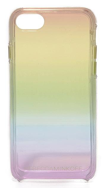 Rebecca Minkoff Rainbow Ombre Transparent iPhone 7 Case