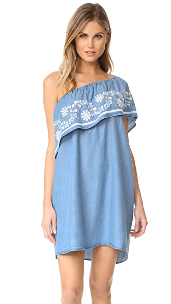 Rebecca Minkoff Rita Dress - Light Blue