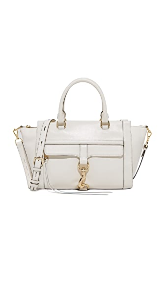 Rebecca Minkoff Bowery Satchel - Optic White