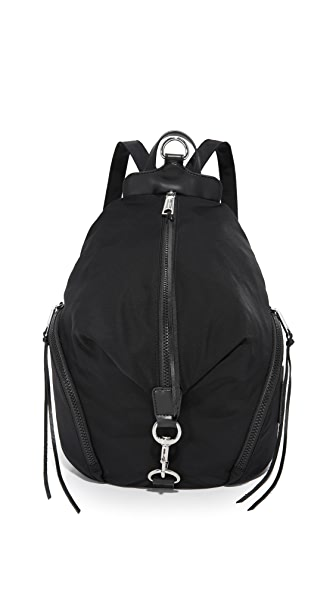 Rebecca Minkoff Nylon Julian Backpack - Black