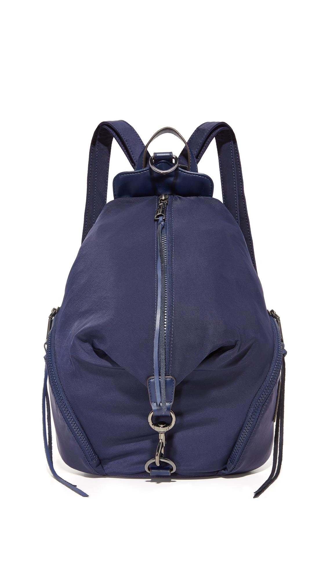 rebecca minkoff female rebecca minkoff nylon julian backpack eclipse