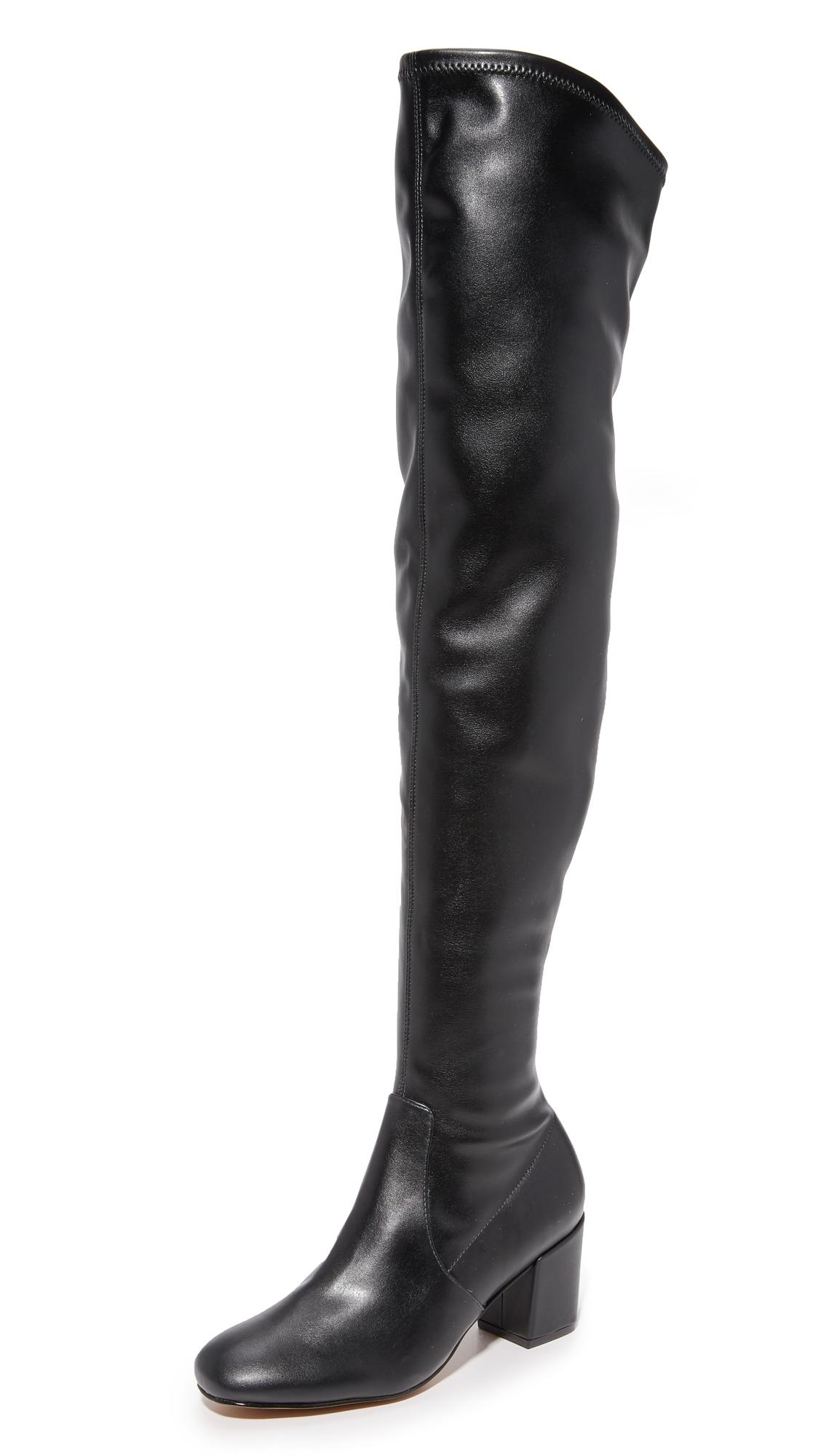 Rebecca Minkoff Lauren Over The Knee Boots - Black