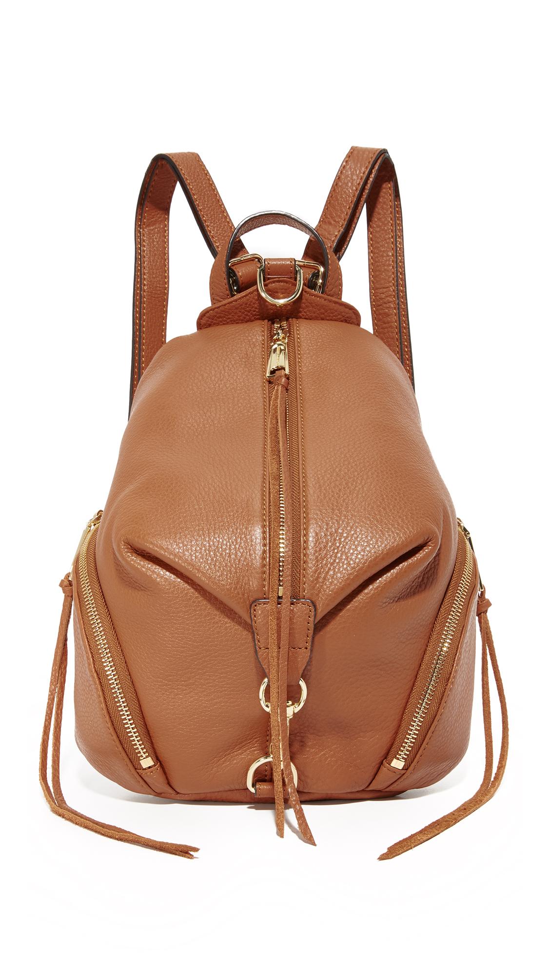 rebecca minkoff female rebecca minkoff medium julian backpack almond