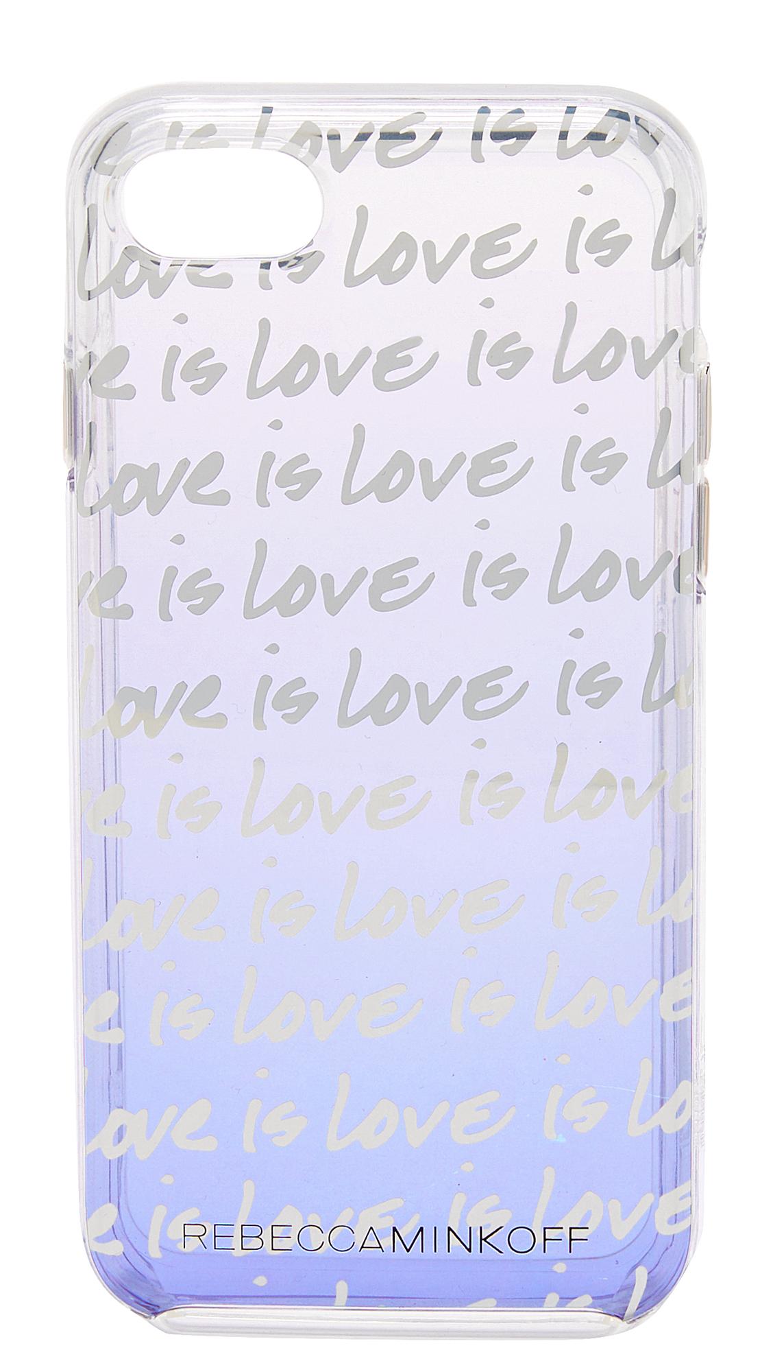 Rebecca Minkoff Love is Love iPhone 7 Case - White