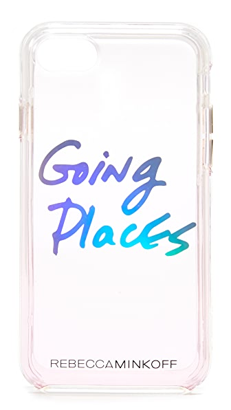 Rebecca Minkoff Going Places iPhone 7 Case In Pink
