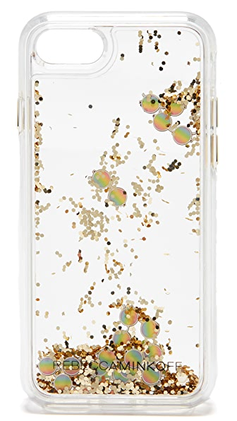 Rebecca Minkoff Mini Sunnies Glitterfall iPhone 7 Case - Multi