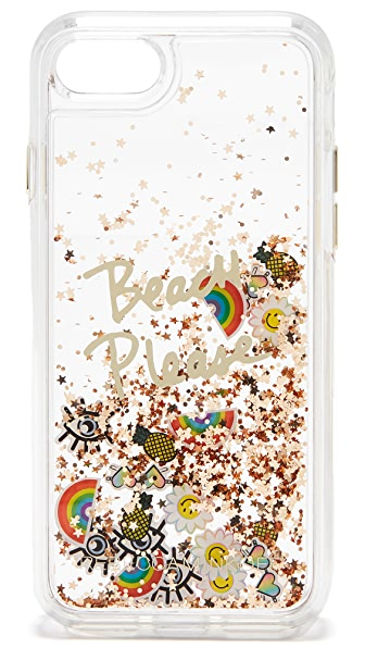 Rebecca Minkoff Beach Icon Glitterfall iPhone 7 Case