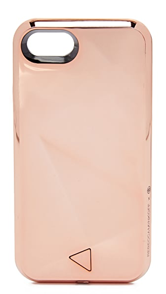 Rebecca Minkoff Glow Selfie iPhone 7 Case - Rose Gold
