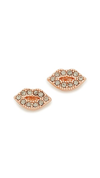 Rebecca Minkoff Lips Stud Earrings