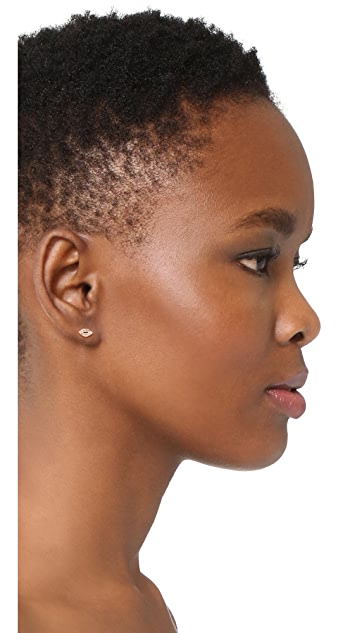 Rebecca Minkoff Lips Stud Earrings