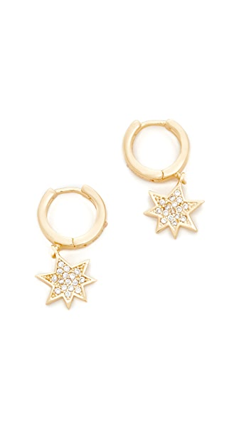 Rebecca Minkoff Pow Huggie Earrings