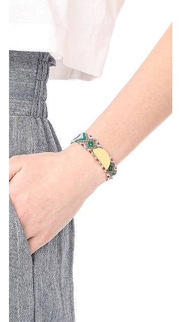 Rebecca Minkoff Taco Stud Friendship Bracelet