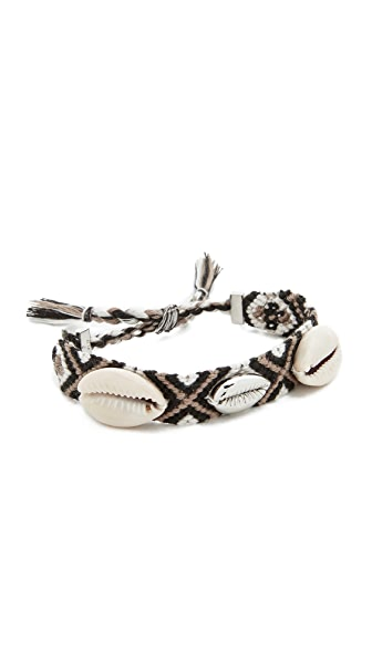 Rebecca Minkoff Lola Friendship Bracelet In Neutral Multi