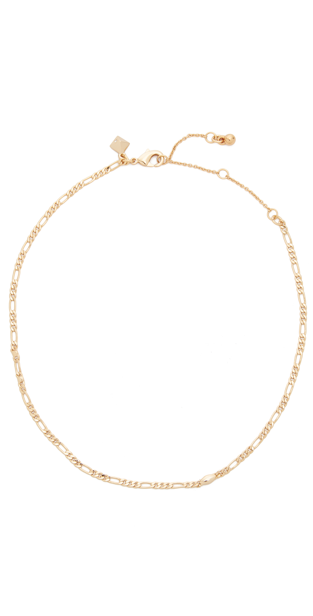 Boyfriend Chain Choker Necklace Rebecca Minkoff