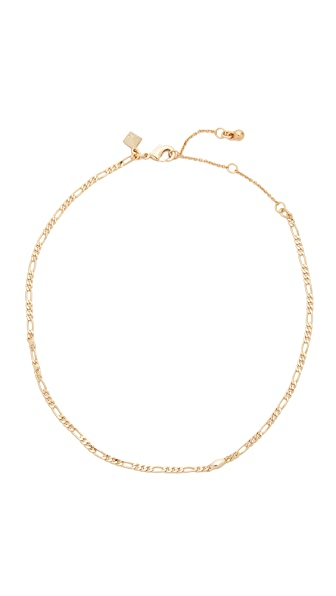 Rebecca Minkoff Boyfriend Chain Choker Necklace