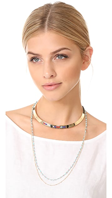 Rebecca Minkoff Louisa Layered Collar Necklace