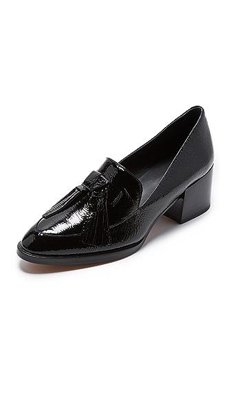 Rebecca Minkoff Edie Patent Loafers - Black