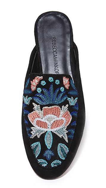 Rebecca Minkoff Raylee Embroidered Mules