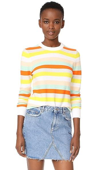 Rebecca Minkoff Cahuilla Stripe Sweater - Multi Stripe