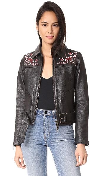 Rebecca Minkoff Washoe Jacket - Black