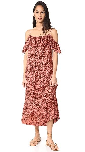 Rebecca Minkoff Lapaz Dress - Melon