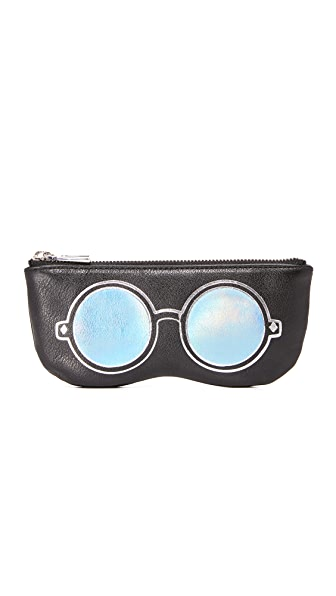 Rebecca Minkoff Mirrored Sunnies Pouch - Black