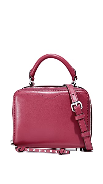 Rebecca Minkoff Box Cross Body Bag - Beet