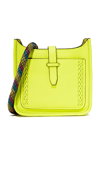 Rebecca Minkoff Mini Unlined Feed Bag - Neon Yellow