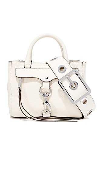 Rebecca Minkoff Grommet Cross Body Bag - Antique White
