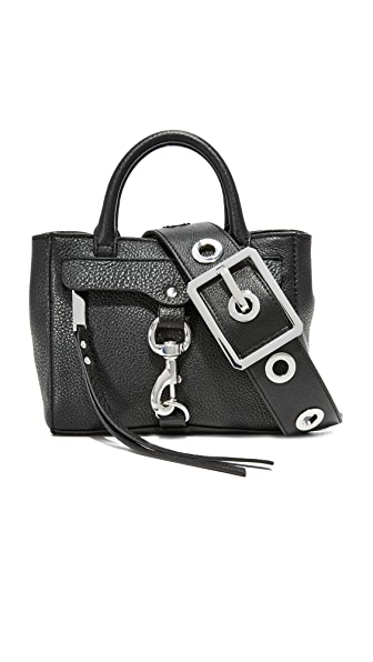 Rebecca Minkoff Grommet Cross Body Bag - Black